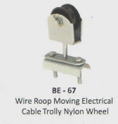 Nylon Wheel Cable Trolley