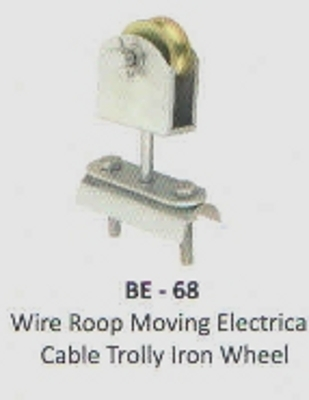 Iron Wheel Cable Trolley