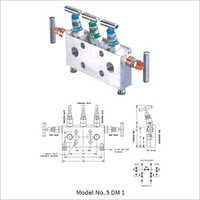 Five Valve Manifold - Direct Mounting-Type DM 1