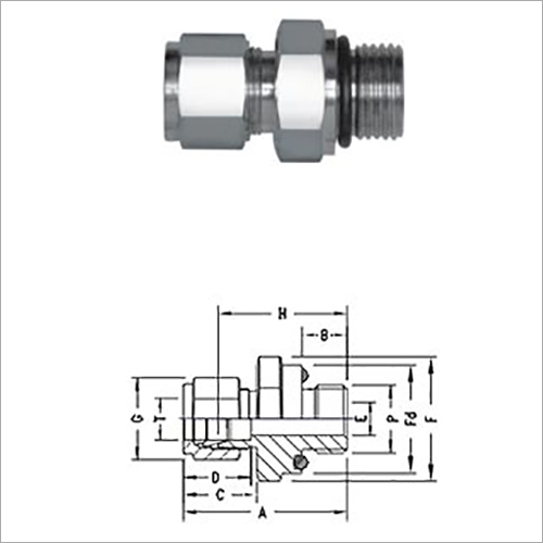 O Seal Male Connector