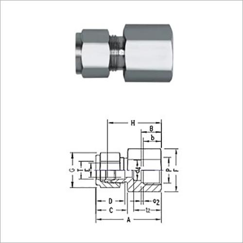 Female Manometer Connector
