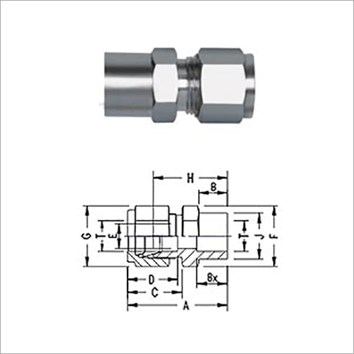 Socket Weld Tube Connector