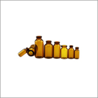 Tubular Amber Vials