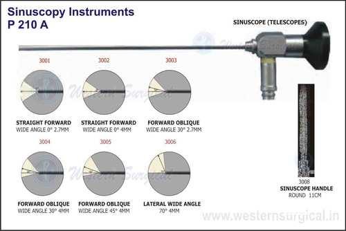 Sinuscope (Telescopes), Sinuscope Handle Round 11C