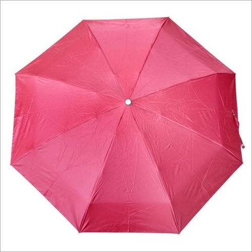 Pink Five Fold Umbrella