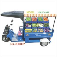 Electric Fruit Cart  Rickshaw