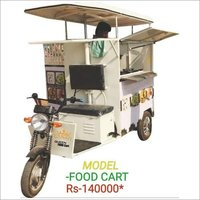 Electric Food Cart Rickshaw
