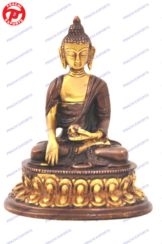 Buddha Sitting W/Oval Base