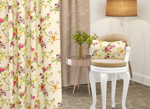 Curtain Print Fabric