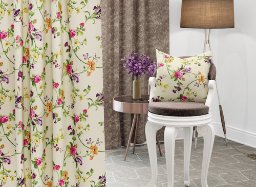 Printed Curtain Fabric