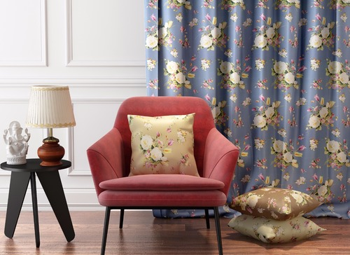 Colorful Curtain Printed Fabric