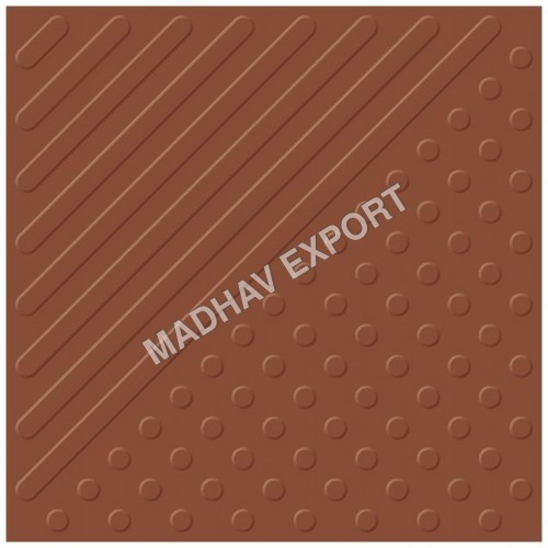 Tab Buttons Terracotta Vitrified Parking Tiles