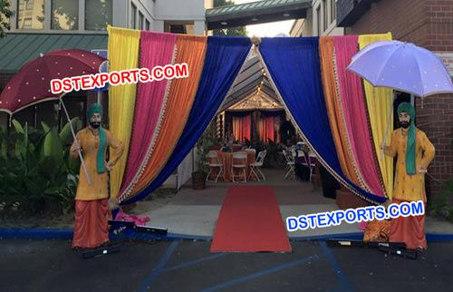 Wedding Entrance Sardar Ji Statue