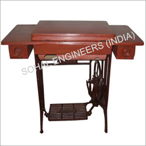 Sewing Machine Folding Table Red