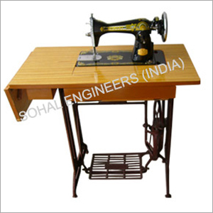 Sewing Machine Folding Table Yellow