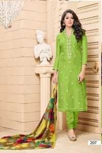 Designer Party Wear Cotton Salwar Kameez