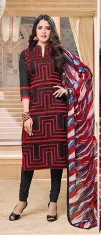 Latest Designer Party Wear Cotton Salwar Kameez