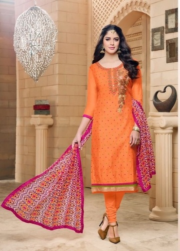 Exclusive Party Wear Designer Cotton Salwar Kameez
