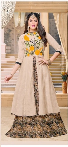 Party Wear Designer Ethnic Cotton Salwar Kameez