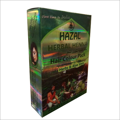 HAZAL HERBAL HENNA HAIR COLOR PACK