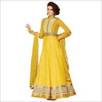Pure Chiffon Anarkali Suit