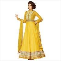 Pure Chiffon Anarkali Suit