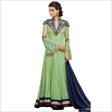 Georgette Designer Anarkali Salwar Suit