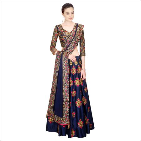 Heavy Silk Lehenga Choli