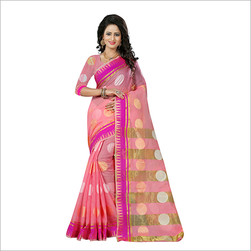 Traditional Impressive Banarasi Net Saree