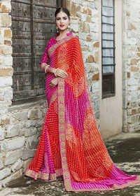 Designer Bhandhani Saree