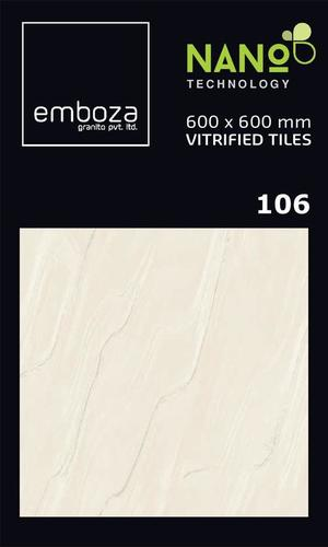 Ivory Vitrified Tiles Nano Technology 600X600mm