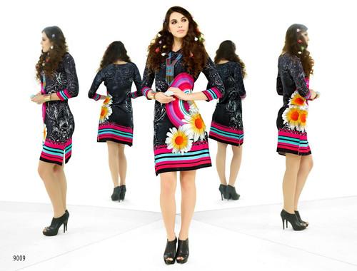 Latest Designer Party Wear Stretchable Kurti