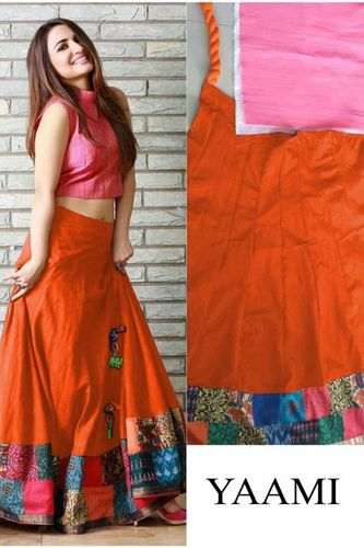 Stylish Designer Party Wear Ethnic Lehenga