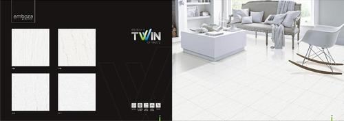 Designer Twin Charged Vitrified Tiles