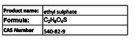 ethyl sulphate