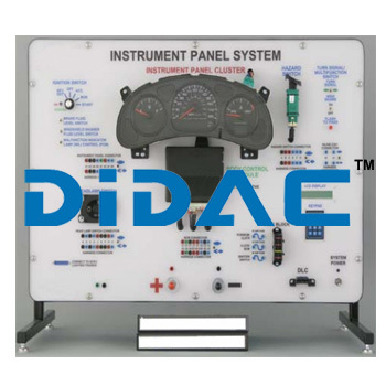 Instrument Panel System Trainer