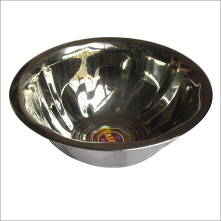 STEEL SERVING BOWLS/ KHARBUJA