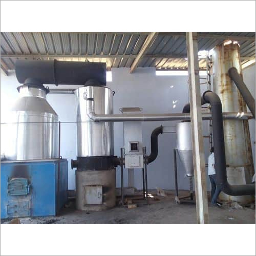 Wood Thermic Fluid Heater