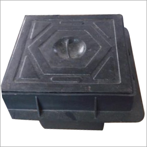 Cast Iron Cover with Polymer Earth Pit-1
