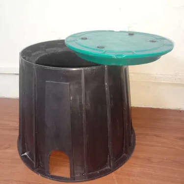 Polymer Round Earth Pit - Big Size