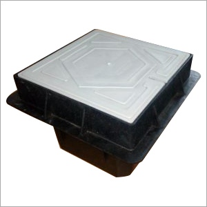 Square Polymer Earth Pit