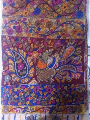 Kalamkari Handpainted Running Fabric