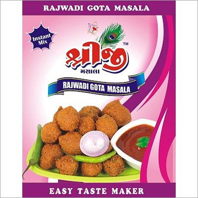 Rajwadi Gota Masala
