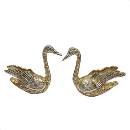 Aluminium Duck set With Wing Sitting