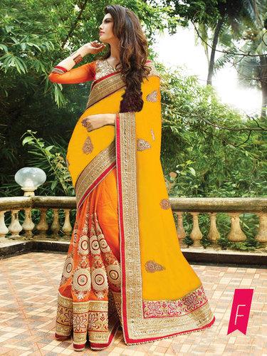 Designer Exclusive Party Wear Latest Saree