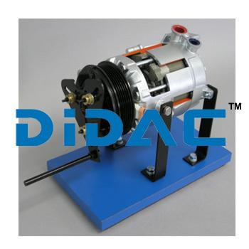 AC Compressor Cutaway