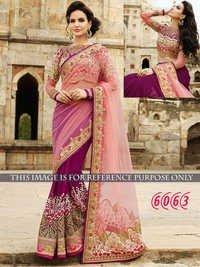 Designer Party Wear Georgette &Net Saree