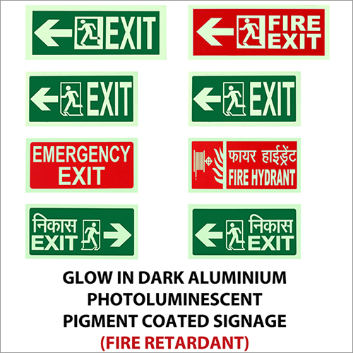 Glow In Drak Signages