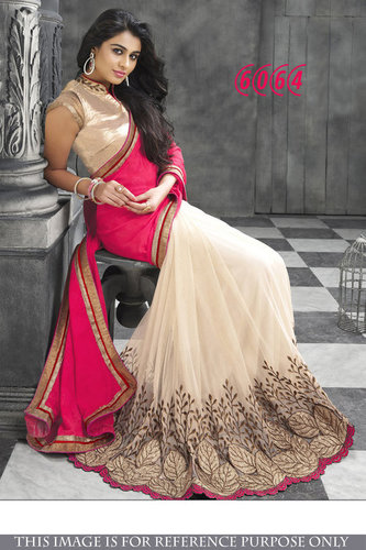 Fashion Designer Party Wear Multi Color Saree