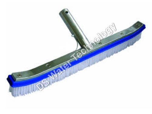 Deluxe Wall Brush with Alu Handle  for Swimming Pool